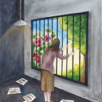 Pain Art | Living With Chronic Illness And Pain by Judith Mary Rose