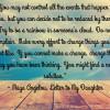 Princess quote maya angelou