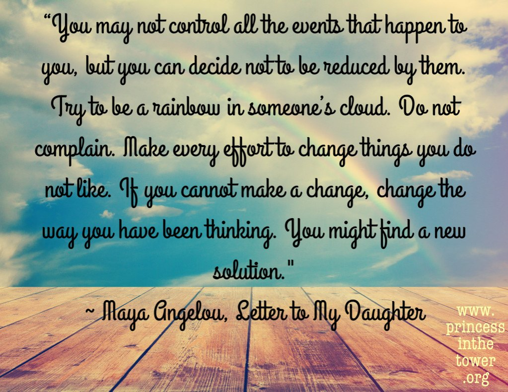 Princess quote maya angelou